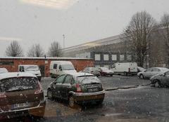 Neige Aulnoye-Aymeries 59620 Voilà la neige