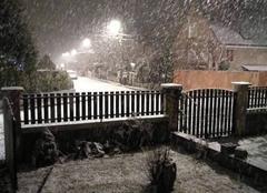 Neige Chambly 60230 Paysage sous neige
