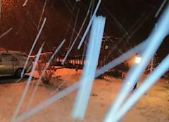 Neige Moulins-sur-Yevre 18390 Première neige