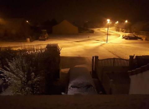 Neige à Senonches !
