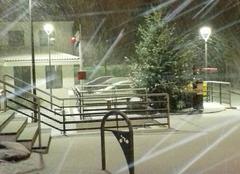Neige La Tessoualle 49280 Il neige