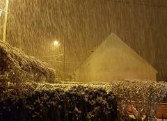 Neige Presles 95590 Neige dans le Val d'oise
