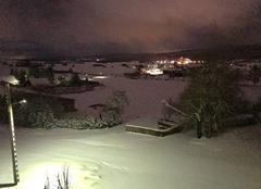 Vent Orchamps-Vennes 25390 Fin de précipitation neigeuse pour ce jeudi soir !