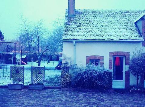 Bonnée sous la neige