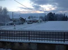 Neige Gergy 71590 Première neige