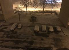 Neige Gueugnon 71130 Première neige