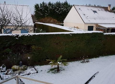 Première neige Argentan Orne