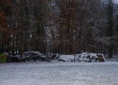 Neige Sainte-Gemme 79330 Neige cet nuit et ce matin