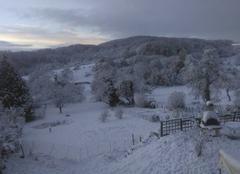 Neige Charrecey 71510 1ere neiges saone et loire