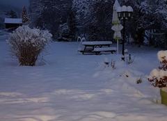 Neige Boege 74420 Neige petit matin