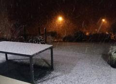 Neige Le May-sur-Evre 49122 Neige dans le Maine et Loire