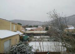 Neige Saint-Paul-Trois-Chateaux 26130 Chute de neige