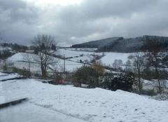 Neige Saint-Cyr-le-Chatoux 69870 Saint-Cyr-le-Châtoux sous la neige