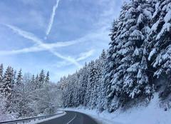 Ciel Touillon-et-Loutelet 25370 Neige et froid