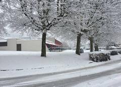 Neige Vizille 38220 Un peu de neige ce 1er décembre