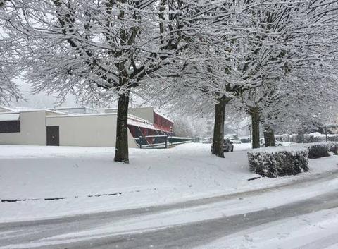 Un peu de neige ce 1er décembre
