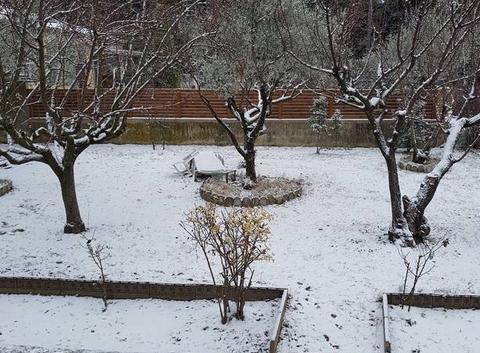 Neige à valreas
