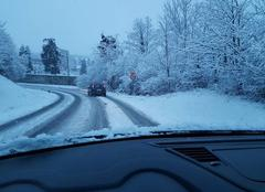 Neige Voiron 38500 Journée de neige