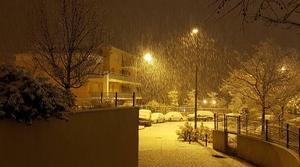 Le sud est sous la neige