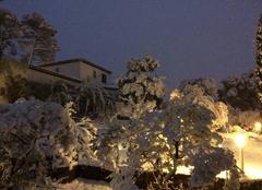 Neige Flassans-sur-Issole 83340 Flassans sous la neige