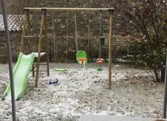 Neige Montsegur-sur-Lauzon 26130 Première neige