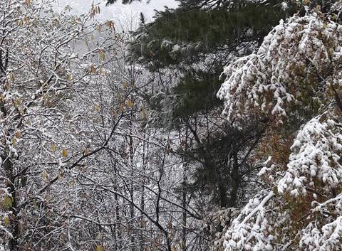 Neige en Corse.