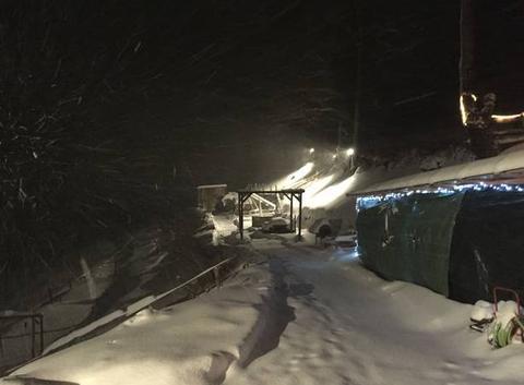 Chute de neige décembre 2017