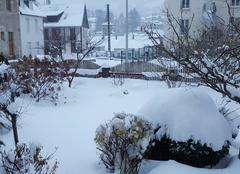 Neige La Bourboule 63150 L'hiver est déjà là !