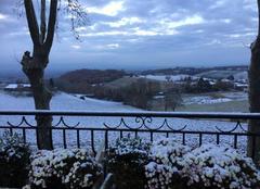 Neige Puylaurens 81700 Paysage sous la neige