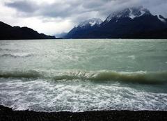 Nuages Punta Arenas Orage sur Lago Grey