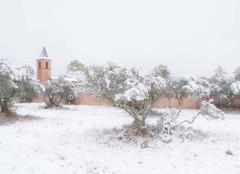 Neige Sillans-la-Cascade 83690 Sillans la Cascade sous la neige
