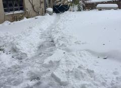 Neige Saint-Bonnet-le-Bourg 63630 Neige et vent glacial