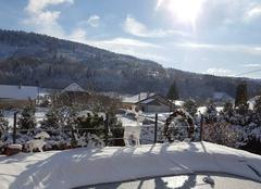 Neige Amathay-Vesigneux 25330 Pour le 1er jour de décembre sur Amathay-Vésigneux