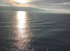 Ciel Dieppe 76200 Coucher de soleil au bord de la mer
