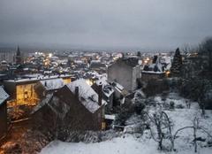 Neige Guéret 23000 Guéret sous la neige