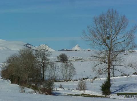 Les Monts du Cantal.
