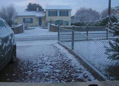 Neige Viennay 79200 3 cm de neige a viennay 79200 dans la nuit de jeudi a vendredi