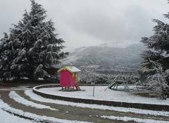 Neige Saint-Vallier 26240 Ma cabane sous la neige
