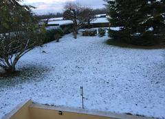 Neige Lonrai 61250 Réveil blanc