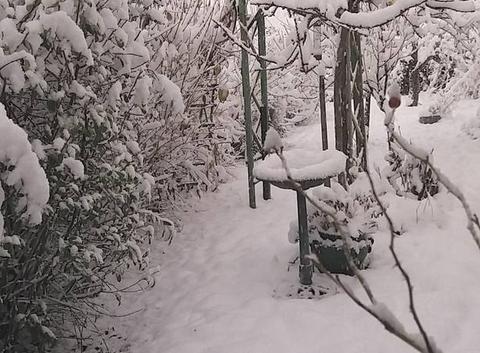 Le Grand Serre sous la neige