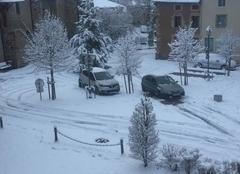 Neige Beauzac 43590 1ère neige à Beauzac