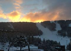 Neige Villard-de-Lans 38250 Levé de soleil