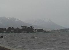 Vent La Seyne-sur-Mer 83500 - 2°...vent d' est ....de quoi chapeauter légèrement le COUDON et le FARON de blanc..