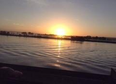 Ciel Villequier 76490 Un matin sur la Seine