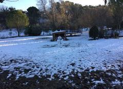 Neige Fuveau 13710 Neige résistante, le bonhomme de neige fait de la résistance