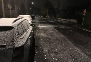 Neige Royat 63130 Première neige