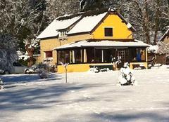 Neige Saint-Leger-en-Yvelines 78610 Maison dans la,forêt