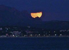Ciel Fréjus 83600 Super lune