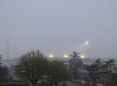 Toujours du brouillard...
