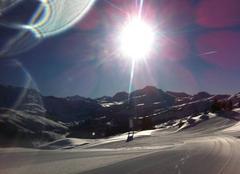 Ciel Beaufort 73270 Le soleil brille sur le Beaufortain